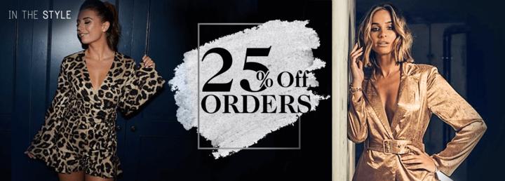 25% off Orders